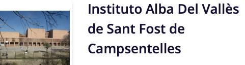 Institut Alba del Vallès. St Fost