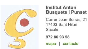 Institut Anton Busquets . St Hilari